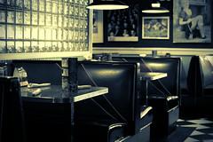 Have a seat (fmeloni) Tags: bw food newyork dinner vintage nikon rochester nikkor70300mmf4556gifed flickrunitedaward nikond610