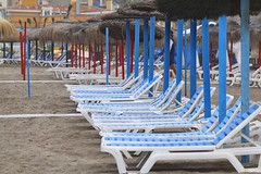 Tha summer is comming...#torremolinos#losalamos (jambros76) Tags: beach hammocks torremolinos losalamos hamacas