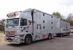 MB Actros 1846 (Vehicle Tim) Tags: truck mercedes mb tier fahrzeug lkw laster actros tiertransport tiertransporter