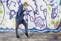 Sheila Hip-hop (Igtocru Photography) Tags: people woman girl graffiti dance nikon hiphop softbox d800 strobist whiteumbrella sb700 sb910
