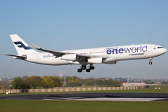 Finnair 'One World ' | OH-LQE | Airbus A340-313 | Brussels Airport (BRU/EBBR) (Matt Weight | Photos) Tags: world brussels one airport finnair special airbus a340 bru livery ebbr a340300 a343 a340313 ohlqe