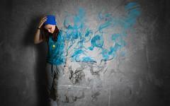 """Fade away"" (Ekaterina Toseva) Tags: girl experimental smoke dramatic away manipulation fade burnout waste"