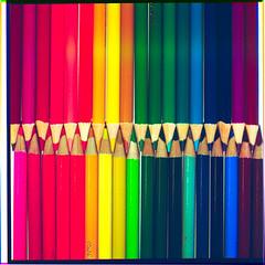 Pencils (Piton Photography) Tags: 3 color pencil cm hasselblad 500 rgb seperation colorpencil 500cm 3colorseperation