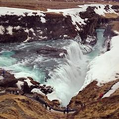 Gulfoss, Iceland (kruupfi) Tags: ice nature water island waterfall iceland gulfoss