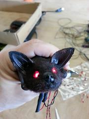 Bat cave build (Pywackyt) Tags: wiring led electronics props bats sculpting texturing setdec scenicdesign setdecorating setbuilds