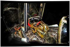 Phantom Cockpit (nigdawphotography) Tags: plane fighter aircraft jet cockpit controls phantom bomber hendon