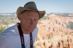 Simply me...  :-) (Thomas Frejek) Tags: usa utah brycecanyonnationalpark 2013 thomasfrejek