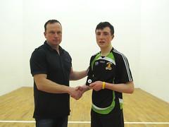 Boys U16 Final RUp Presentation Cormac Munroe