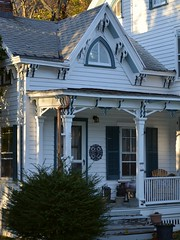 Cold Spring Porch (firecomet) Tags: house ny newyork li victorian longisland porch victorianarchitecture coldspringharbor suffolkcounty