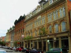 Toronto Old Town (Senifalu) Tags: toronto townhouse yorktown streetphoto frontstreet victorianhouse