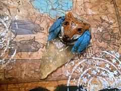 DSCN2584 (LynzCraftz) Tags: art necklace handmade spirit oneofakind goddess polymerclay resin arrowhead pendant amulet renaissancefair swellegant