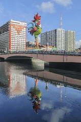 GALO OVER THE BRIDGE I / GALO SOBRE A PONTE I (Arthur Perruci) Tags: brasil nikon carnaval recife pernambuco nordeste galodamadrugada tamronspaf1750mmf28xrdiiildasphericalif d5000 nikond5000 arthurperruci