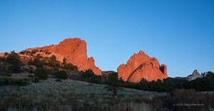 First Light - Garden of the Gods (0747) (Malcolm Bull) Tags: rock garden dawn colorado springs gods include formations 20151008usa0747edited1web