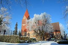 Biestow #9 (victorlaszlo73) Tags: winter sunny sonnig dorfkirche mecklenburgvorpommern biestow