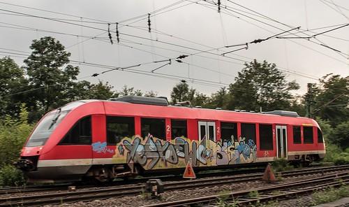 23.08.2006 Gelsenkirchen Bismarck. DB 640 Dortmund
