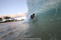 IMG_2663 copy (Aaron Lynton) Tags: sunset beach canon hawaii big maui 7d spl makena shorebreak bigbeach 580exii
