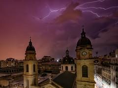 Yesterday night (karinavera) Tags: longexposure storm argentina night clouds buenosaires cityscape flash thunderstorm lightning nikond5300