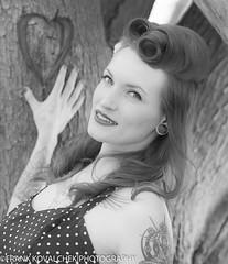 Smitten? (Alaskan Dude) Tags: fashion portraits model women photoshoot modeling models danielle pinup photoshoots