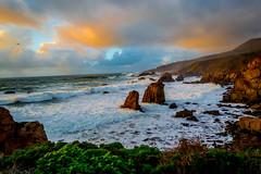 Big Sur Sunset (EdwardA57) Tags: ocean sunset beauty landscape nikon raw bigsur peaceful workshop serene lightroom nikond3200 d3200