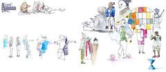 50eme Sketchcrawl_Centquatre. People (velt.mathieu) Tags: people sketch sketchcrawl croquis urbansketchers