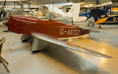 G-AESZ Chilton D.W.1 1937 Prototype at Old warden (David Russell UK) Tags: old original england race airplane aircraft aeroplane collection prototype vehicle 29 warden shuttleworth racer 1937 chilton monoplane dw1 gaesz
