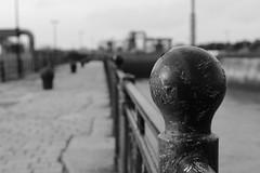 Railings (Bluden1) Tags: river birkenhead pumphouse mersey merseyside
