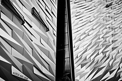 Titanic Confusion (mik-shep) Tags: windows abstract window shapes belfast 20 titanic thetitanicexperience 116picturesin2016