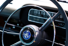 blue (Burnt Out Chevrolet) Tags: auto show park new blue detail classic up field car wheel vintage emblem logo 50mm bay cool aperture 60s close steering interior sony spoke wheels retro zealand badge nz windsor inside 1960s dashboard hastings speedo alpha priority a200 speedometer depth griffin 1962 62 vauxhall velox hawkes