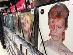 Bowie at HMV Leicester (boloveselvis) Tags: space oddity hunky dory ziggy recordshop davidbowie 33rpm ziggystardust hunkydory bowievinyl hmvleicester vintagebowie bowielp classicbowie hunkydoryvinyl