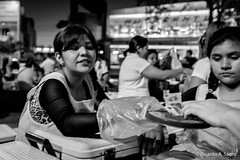 Cincuenta (Ricardo A Senz) Tags: street people food vendedor calle gente comida tamales fujifilm vendor colima x100t