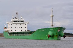 Arklow Moor.... Blyth 080216 (silvermop) Tags: sea port river boats ship ships blyth bulkcarriers bulkers cargovessels arklowmoor