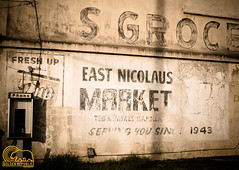 East Nicolaus Market (Golden_Republic_Photography) Tags: california county wood old school cold west abandoned church barn marina moss rust ruins grafitti christ rice bell market decay pigeon burger country grain delta silo east warehouse verona sutter sacramento westcoast omd spartan sacramentoriver trowbridge nicolaus em5 enhs