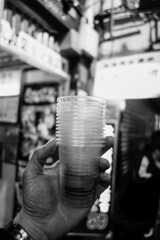 DRINKING ON THE STREETS OF MK FIRST NIGHT OF CNY (lotophotos) Tags: beer night truck riot sony ale first hong kong ii cny 香港 mongkok mk stout maks 旺角 rx100 lotophotos wwwlotophotoscom 麥子啤酒