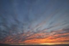 Cloud Rays (St./L) Tags: blue sky orange nature clouds sunrise landscape dawn nikon artistic wide creative harmony meditation imaginative