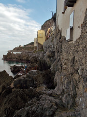 Mura megalitiche (Antonio De Capua) Tags: sea mare path cliffs walls mura scogli percorso