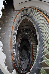 Royal Haslar Hospital (Explore 24-02-2016) (scrappy nw) Tags: uk abandoned stairs canon hospital decay navy urbanexploration portsmouth derelict urbanexploring ue spiralstairs urbex scrappy 750d scrappynw canon750d royalhaslarhospital
