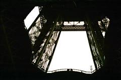 Victorian ironwork (Thompson Photography) Tags: trip paris march eiffeltower latoureiffel 1998 398 scancafe41113