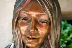 Sedona Statue (Iris Studios) Tags: sedona arizona statue water fountain bronze