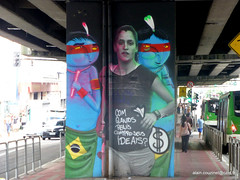 Brsil 2016 SP Graffitis-010 (CZNT Photos) Tags: streetart brasil saopaulo graff brsil artmural alaincouzinet cznt