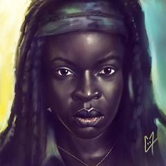 Michonne - @danaigurira #TWD #thewalkingdead #michonne #danaigurira #michonnetwd #zombie #digitalpainting #digitalart #draw #drawing #iPad #ipadart #ipaddrawing #painting #artwork #portraitart (c0y0te7.fr) Tags: art painting artwork drawing zombie digitalart digitalpainting draw ipad twd portraitart thewalkingdead michonne danaigurira ipadart ipaddrawing michonnetwd