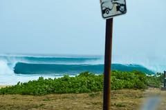 Sandy Beach Bombing 03/08/16 (Run amuck) Tags: beach surf oahu sandybeach surfphotography fishscalephoto