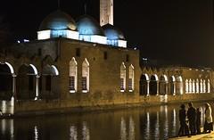 DSC_9875 (Onur_Ekmekci) Tags: lake architecture nightshot outdoor sanliurfa landmark mosque historical vernacular balikligol