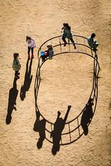 Circle (mirsavio) Tags: light circle spain shadows catalunia childrem rithm parkguel barvelona fujinon1855 fujifilmxt1