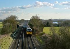 56113 at Kingsbury Junction (robmcrorie) Tags: boston train grid steel rail railway junction class heath british railfan warwickshire 56 kingsbury colas 56113 washwood 6e07
