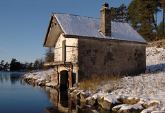 Abandoned Boathouse Scotland