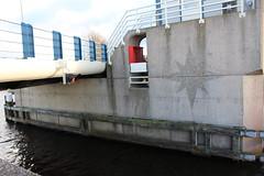Janesloot Bridge (Davydutchy) Tags: bridge holland netherlands concrete star canal cement nederland pont kanal kanaal brug brcke stern paysbas friesland waterway beton niederlande ster vaart frysln frisia langweer brge langwar janesloot pontdyk