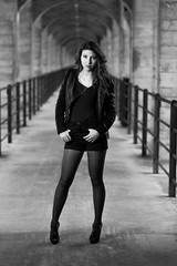 B&W-8280 (Fabio Circelli) Tags: portrait girl beautiful glamour perfect pretty suisse swiss shooting fribourg miss francophone grandfeybridgeportrait