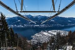 DSC09354 (aaron.galbusera) Tags: sky panorama mountain nature lago schweiz tessin ticino swiss natura vista svizzera ti funivia celo luce ch cimetta cardada