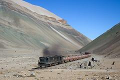 Train on the moon (david_gubler) Tags: chile train railway llanta potrerillos ferronor