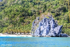 Seven Commando (charizsa timkang) Tags: sky sunrise island photography philippines secretbeach blues sunsets beaches hiddenbeach elnido beachbum palawan bestshots beachphotography papayabeach beautifuldestinations snapseed phonto itsmorefuninthephilippines